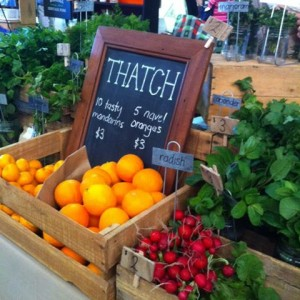 Thatch Organics at the Barossa Farmers Market