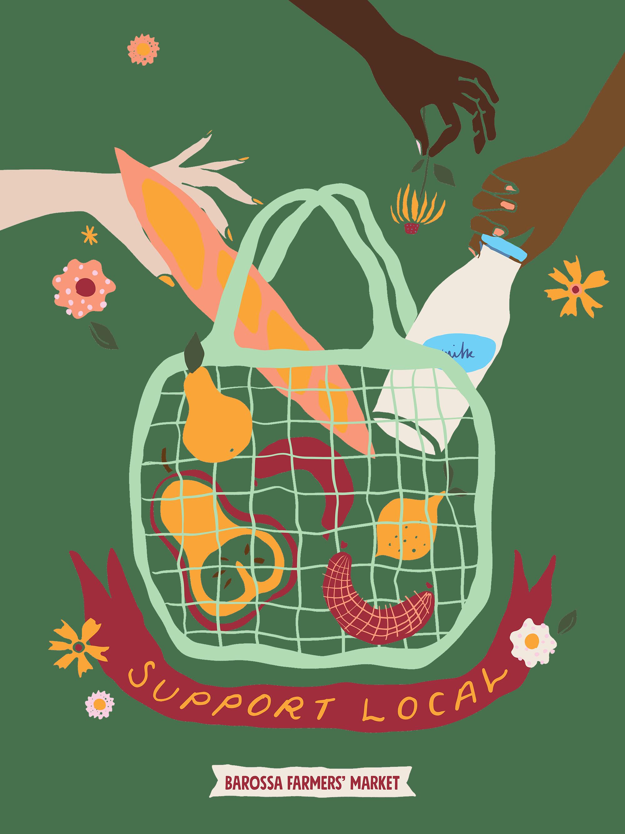 Help Desk at Barossa Farmers Market